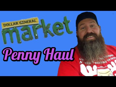 Dollar General Penny Haul | DG NCI Store & DG Market Walk-Thru | Penny Item List
