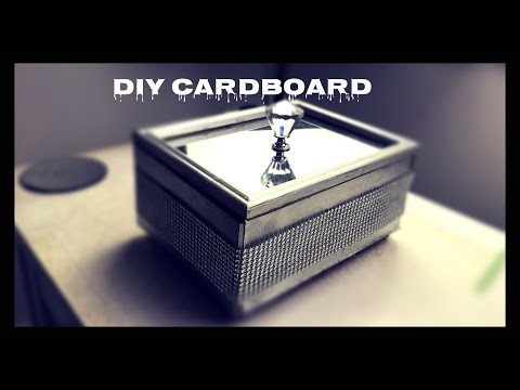 How To Make, DIY, Cardboard Box, DIY PROJECT: Cardboard Box Shelves - Homes+