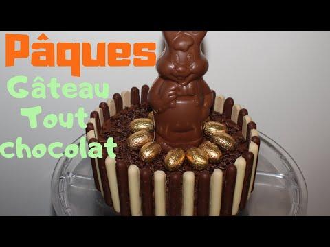gâteau-pâques-tout-chocolat