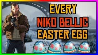 GTA 5 - Every Niko Bellic Easter Egg In GTA 5!!!