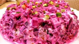 Это Удивительное Сочетание Ингредиентов УДИВИТ КАЖДОГО! Салат из Свеклы со Шпротами  На Новый Год