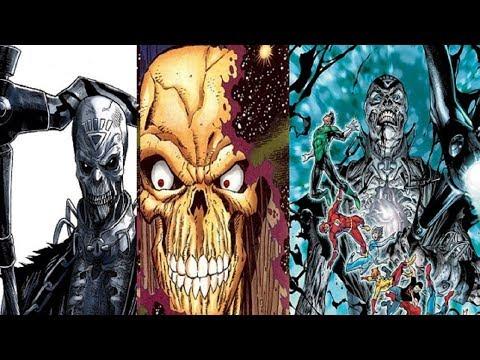 Super Villain Biography: Nekron  -featuring-  Sinestro