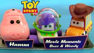 Disney Cars Buzz Lightyear Woody Hamm Diecast Car Toys