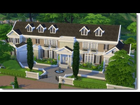 LOCKWOOD MANSION (w/stephysims4) | The Sims 4 Speed Build