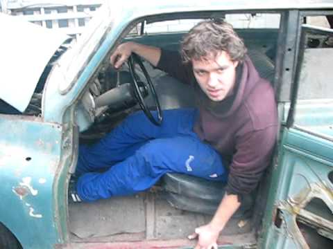 arrancando el dkw auto union