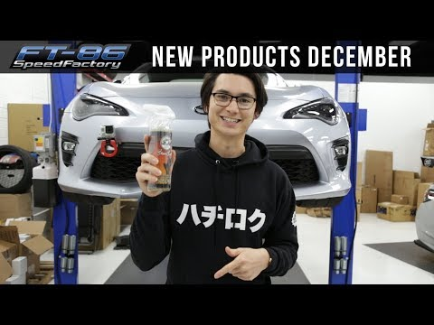 New Products December - FT86SpeedFactory