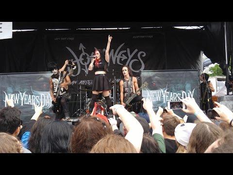 New Years Day (Full Set) - 2015 Vans Warped Tour - Toronto