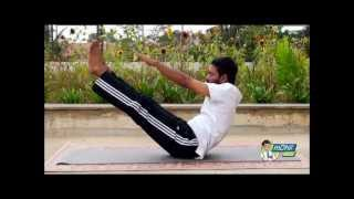 How to Get a Flat Stomach Through Yoga - Hindi