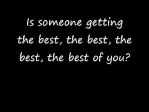 Foo Fighters - Best Of You (Lyrics)