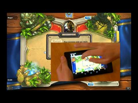 How to play Blizzard's Hearthstone on your tablet right now