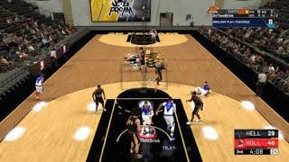 Rare Double Alley Oop Performed in NBA 2k19 ProAm
