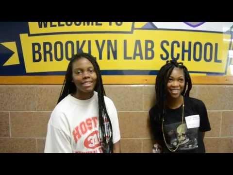 Monei And Shainse (AMG Interns) Brooklyn Lab School