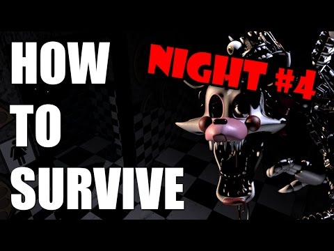 How To Survive And Beat Five Nights At Freddy's 2   Night Four   PC GUIDE
