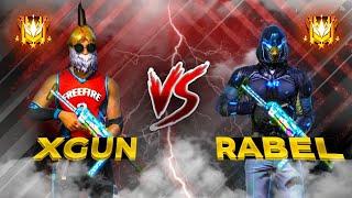 RABEL VS XGUN 👽 LEGENDS FIGHT ? 😱🔥 التحدي الذي ينتظره الجميع