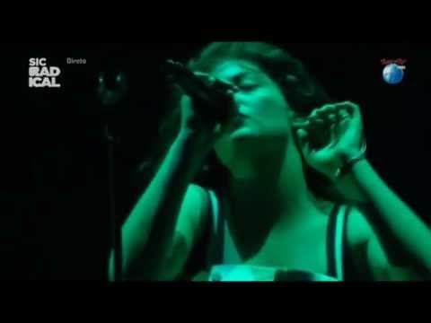 Lorde - Swingin Party (Cover - The Replacements) @ Rock In Rio Lisboa 2014 (HD)