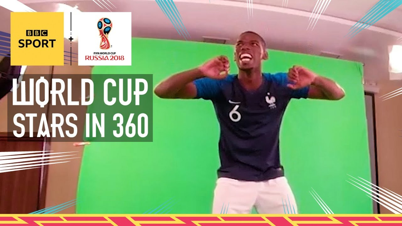 World Cup 2018: Cristiano Ronaldo, Paul Pogba, Mo Salah, Kroos & Griezmann in 360