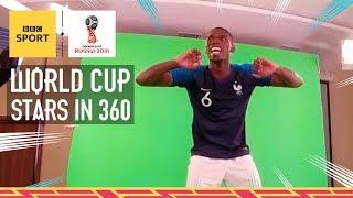 World Cup 2018: Cristiano Ronaldo, Paul Pogba, Mo Salah, Kroos & Griezmann in 360 - BBC Sport