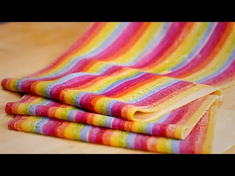 How to Make Rainbow Pasta by Salty Seattle