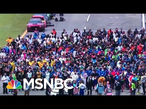 NASCAR Shows Solidarity With Bubba Wallace After Noose Is Found In His Garage | MSNBC