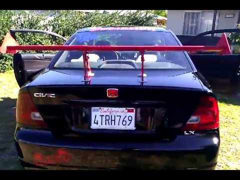 Honda Civic 2001 Youtube