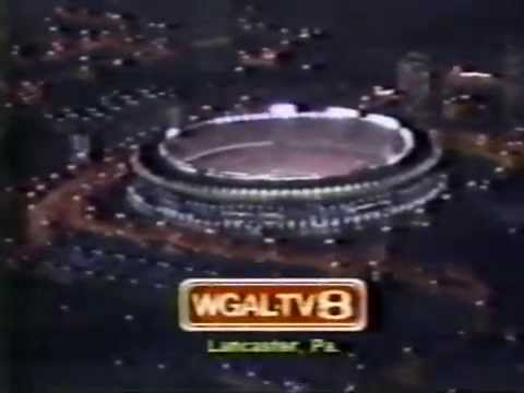 WGAL Channel 8 Lancaster, PA October 20, 1982 On-Screen Station ID