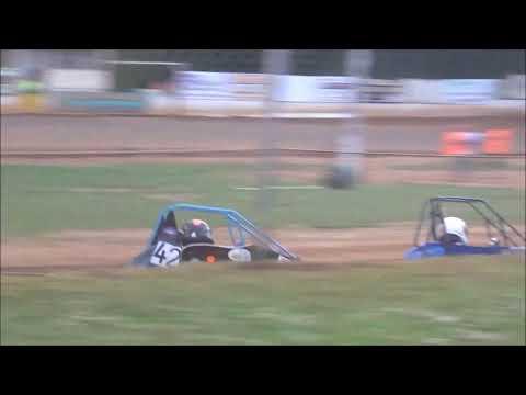 Shellhammers Speedway Senior Honda Quarter Midget Feature- 7/14/2018