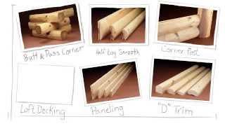 Log Siding: A Log Home Among Castles