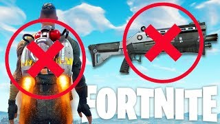 JET PACKS REMOVED & SHOTGUNS NERFED - New Fortnite Update Inbound - Fortnite Battle Royale Gameplay