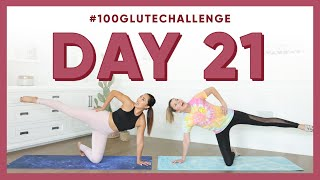Day 21: Elevated Leg Circles!   100 Glute Challenge w/ Grace Helbig