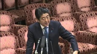 安倍【ナチスの授権法】に反論 vs福島みずほ1/19 参院・予算委
