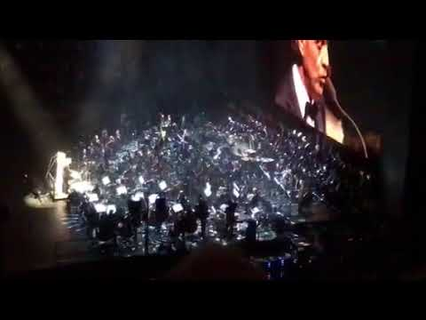 Andrea Bocelli 2017 Madison Square Garden View From Section 212 Row 10 U0026  Video