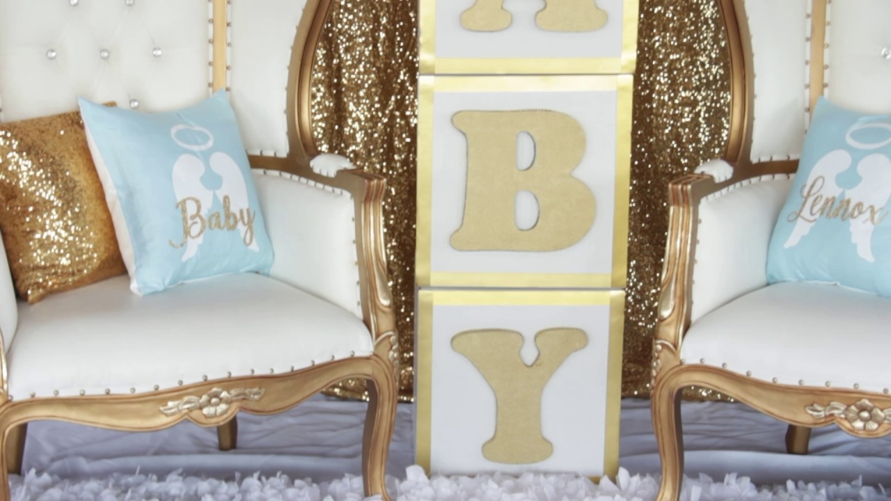 heaven sent baby shower by grace u0026 39 s events