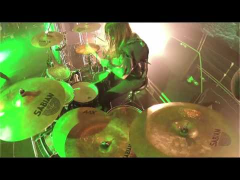 DARK FUNERAL@Hail Murder-Dominator-live at Brutal Assault 2016 (Drum Cam)
