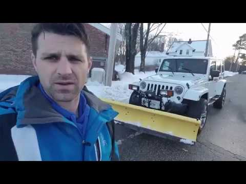 Is A Jeep Wrangler Good For Snow Plowing !!??