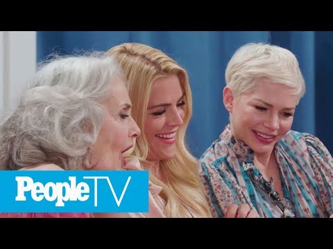 Katie Holmes & Michelle Williams Discover The 'Dawson Crying' Meme For The First Time  PeopleTV