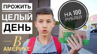 ПРОЖИТЬ ЦЕЛЫЙ ДЕНЬ - НА 100 РУБЛЕЙ В АМЕРИКЕ - Проверяем SlivkiShow