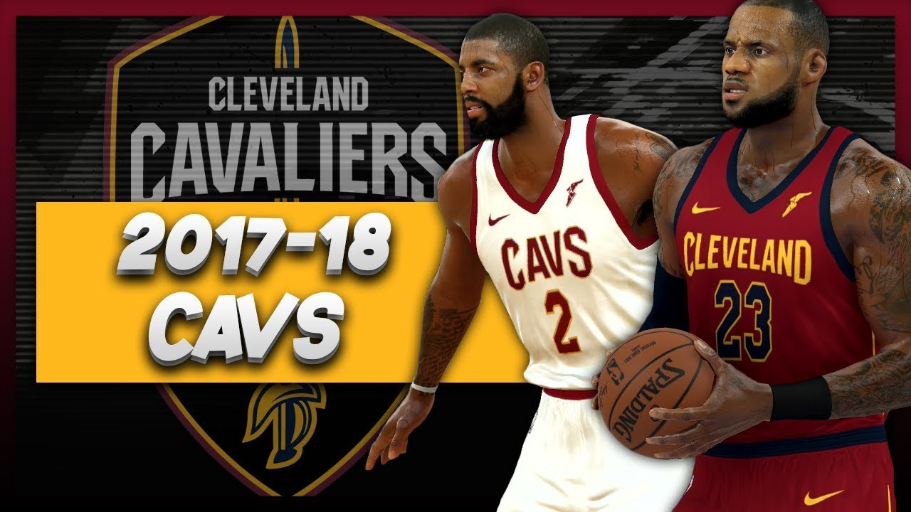 893bedc3f NBA 2K17 Cleveland Cavaliers Nike Concept Jersey Tutorial - YouTube