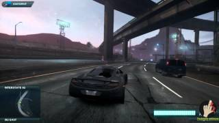 Need for Speed Most Wanted 2014 Gameplay PC/ HD 5750 (Comentariu In Romana) [Joc de CACAT]
