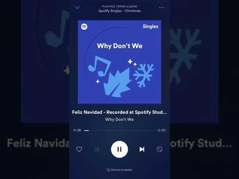 Feliz Navidad - Why Don't We Cover
