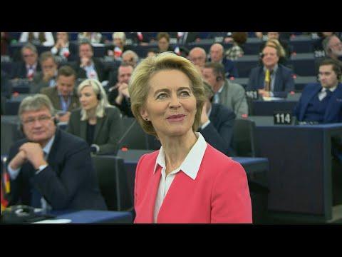 EU parliament approves von der Leyen commission | AFP