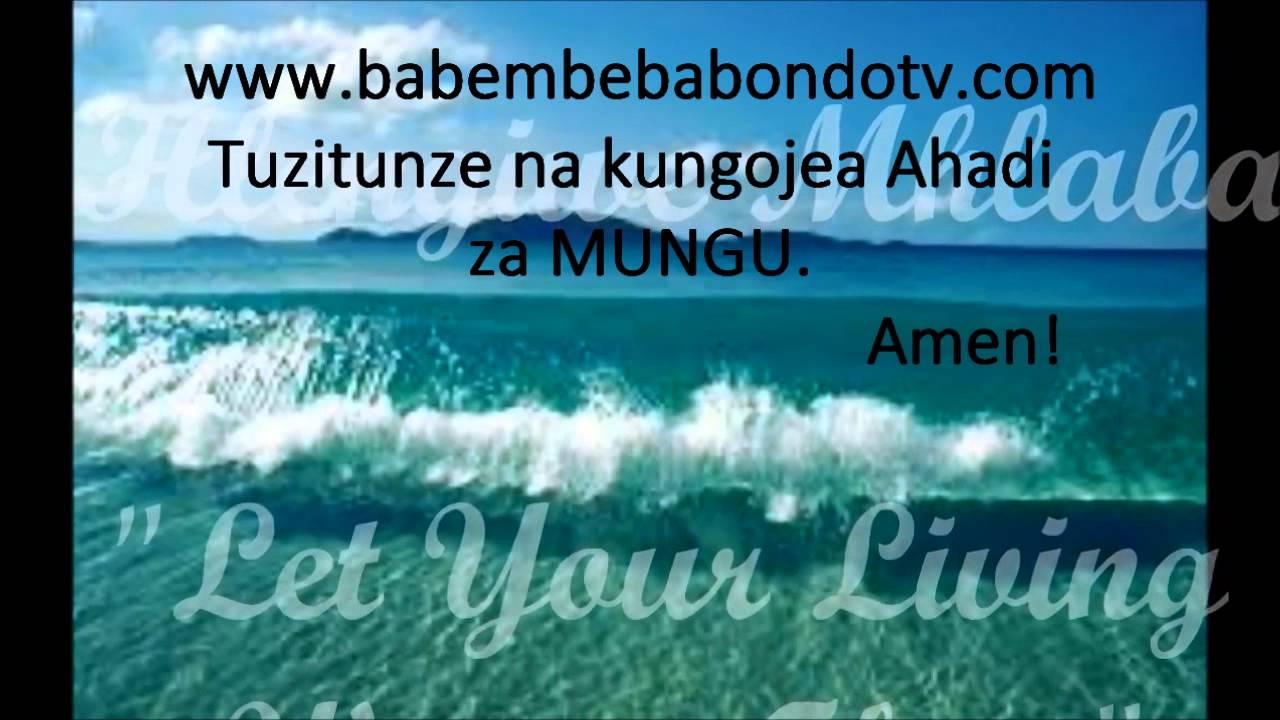 Download TUNGOJE AHADI ZA BWANA
