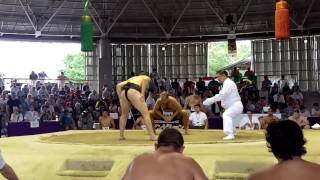USA Freund vs RUS Altyev Sumo World Champs 2015