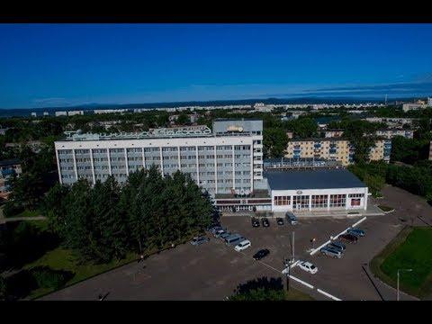 "Гостиница ""Восход"" в центре Комсомольска на Амуре"