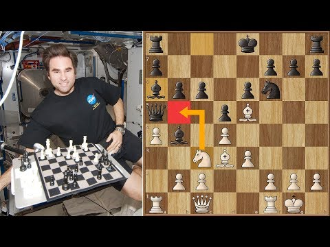 Astronaut Greg Chamitoff VS NASA Ground Control - Houston, we Have a Checkmate