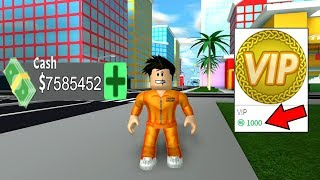 I BOUGHT ROBUX 1000 VIP IN MAD CITY-ROBLOX