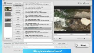 Free VOC Converter, MTS File Converter for Canon JVC Panasonic Sony AVCHD Camcorder