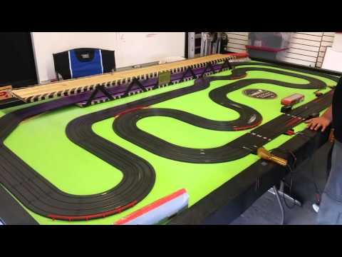 ESR Electric Slot Car Racing- new track setup
