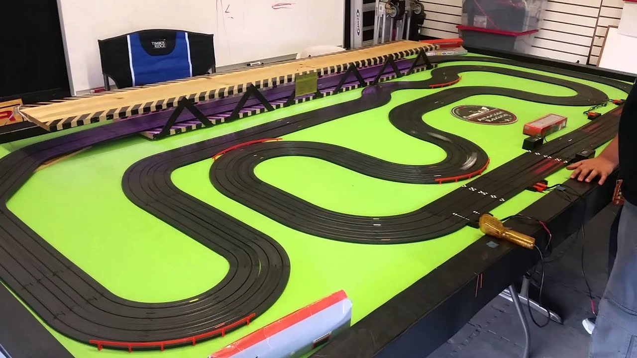 Esr Electric Slot Car Racing New Track Setup