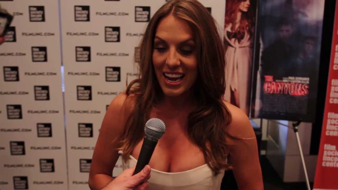 The Canyons World Premiere: Tenille Houston