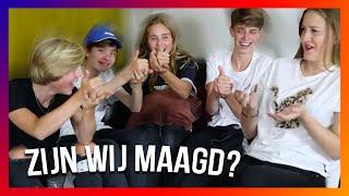 ZIJN WIJ MAAGD - Q And A met Lise van Wijk, Cjoelmovies en Yaron